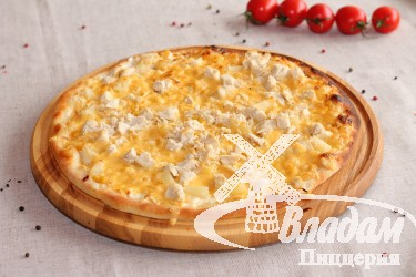 Пицца Нежность (на тонком тесте)