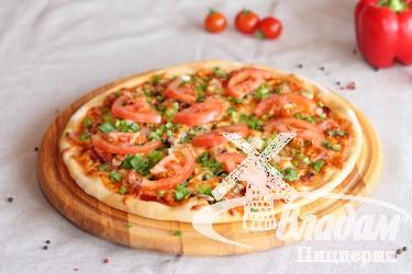 Пицца Охотничья (на тонком тесте)