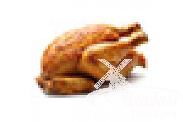 Курица копченая
