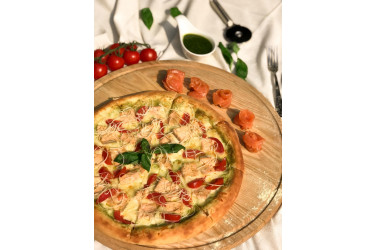 Пицца Fish Pesto