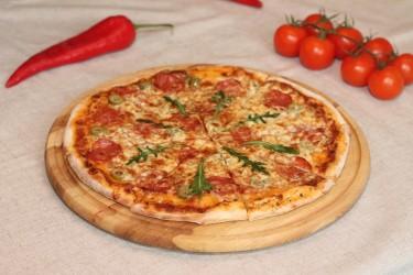 Пицца Наполи на тонком тесте